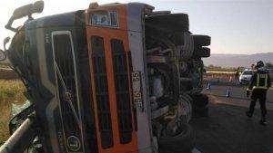 Imagen del accidente sucedido en Murcia