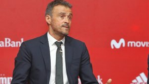 Imagen del seleccionador Luis Enrique.