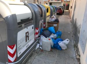 Imatge d'alguns contenidors a Torrefarrera
