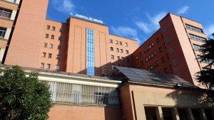 Imatge de la façana de l'Hospital Trueta de Girona