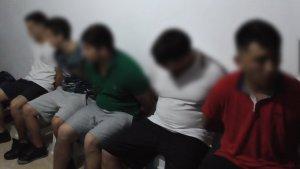 Imatge dels cinc detinguts