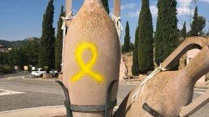 Imatge d'un dels monuments afectats de Tivissa