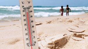 Las temperaturas se disparan