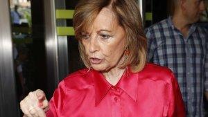 María Teresa Campos, periodista y presentadora.