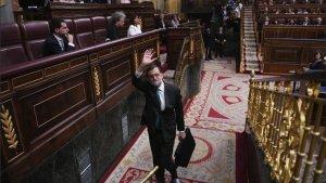 Mariano Rajoy dimite como presidente del Gobierno