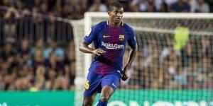 Marlon, en un partit amb el Barça.