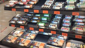Mercadona amplia a 655 supermercados su oferta de sushi