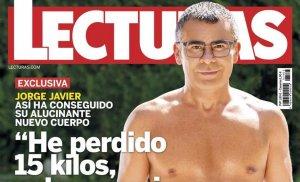 Portada de la revista 'Lecturas en la que aparece Jorge Javier Vázquez
