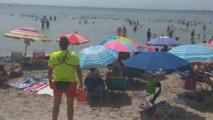 Socorristas de las playas de la Región de Murcia.