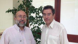 Toni Royo i Manel Carceller, ponents del col·loqui