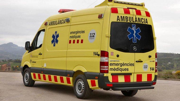 Imatge d'arxiu d'una ambulància del Sistema d'Emergències Mèdiques.