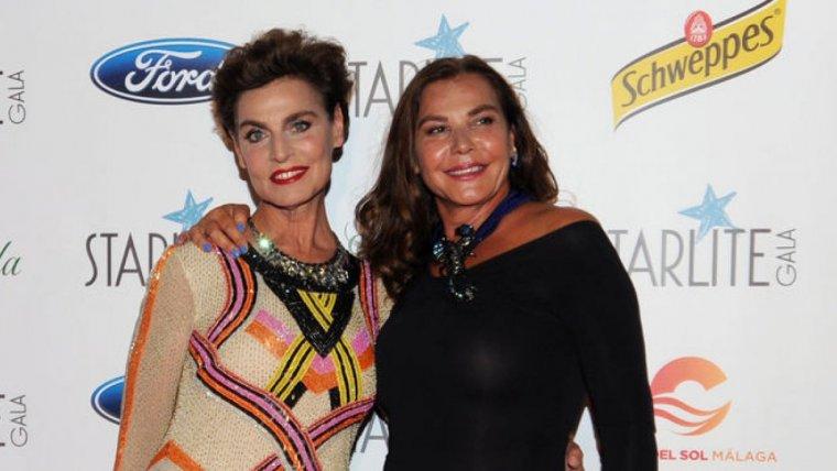 Antonia Dell'Atte, en el 'photocall' de la Gala Starlite