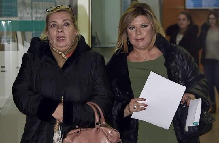 Carmen Borrego y Terelu Campos, muy pendientes del estado de salud de su madre