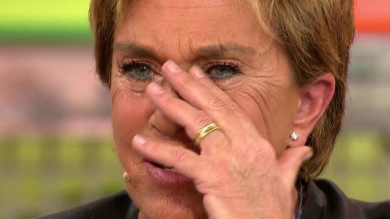 Chelo García Cortés, entre lágrimas en 'Sálvame'