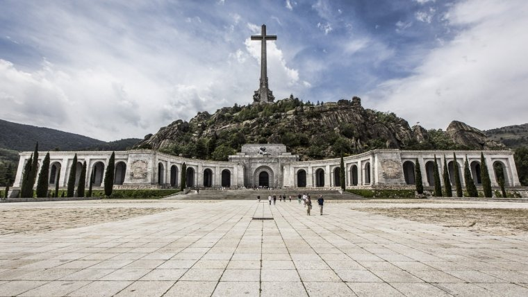 El Valle de los Caídos, des de dins