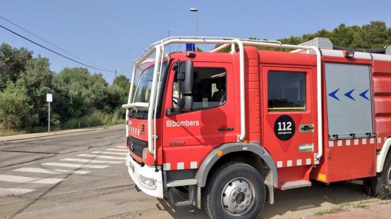Imatge d'arxiu d'un vehicle dels Bombers