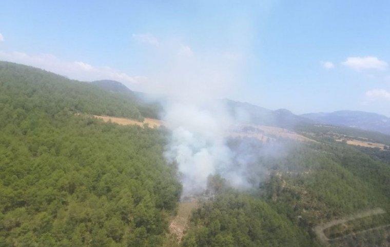 Imatge del foc al Solsonès