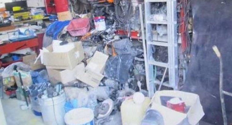 Imatge del taller del magatzem