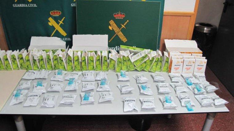 Imatge dels refrescos dissolubles on els detinguts amagaven la cocaïna.