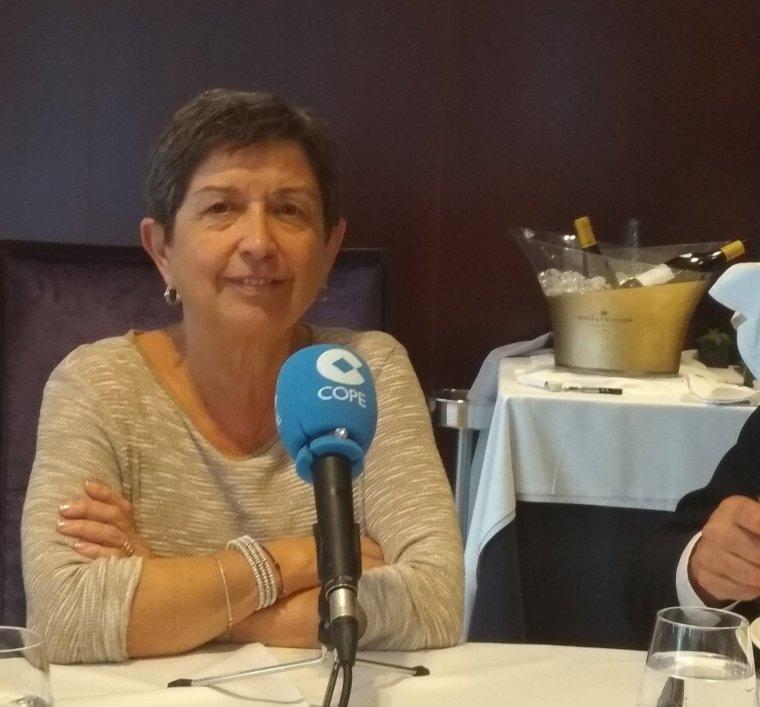 La delegada del govern espanyol a Catalunya, Teresa Cunillera, a la cadena COPE
