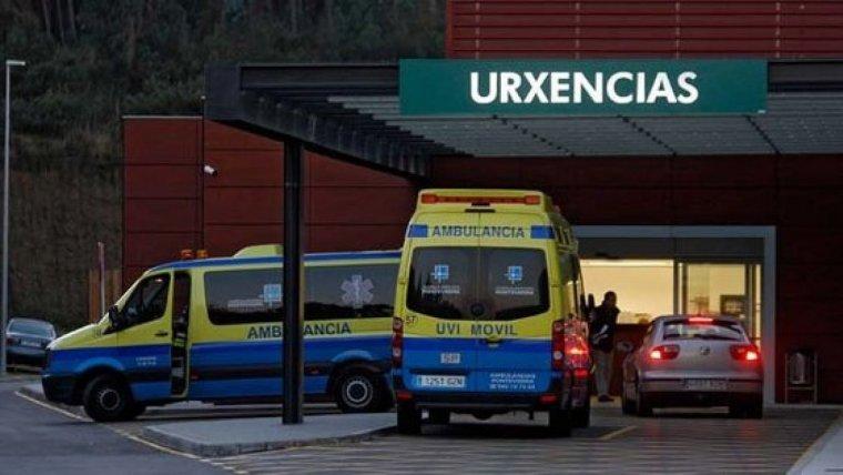 Imagen de archivo de la entrada de Urgencias de un hospital gallego