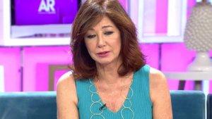 Ana Rosa Quintana envía el pésame a su vecino Raúl del Pozo, en el directo de Telecinco.