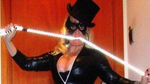 Aramis Fuster i el seu nou look de dominatrix