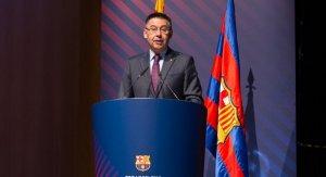 Bartomeu presenta el 39è Congrés Mundial de Penyes del Barça