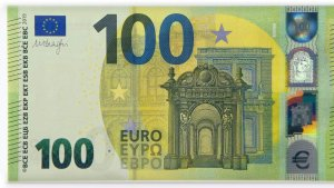 Billetes de 100 y 200 euros