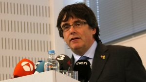 Carles Puigdemont a Hasselt, Bèlgica