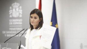 La exministra Carmen Montón