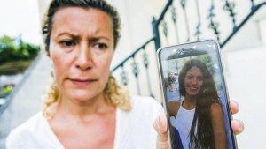 Diana López, madre de la víctima