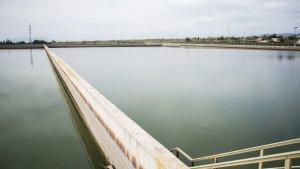 Dipòsit d'aigua crua del Consorci d'Aigües de Tarragona