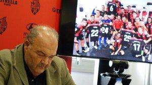 El màxim accionista del club, Joan Oliver, ha explicat la situació viscuda pel club