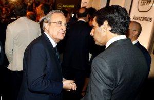 El president del Madrid, Florentino Pérez, en el balanç dels primers 100 dies de Pedro Sánchez com a president d'Espanya.