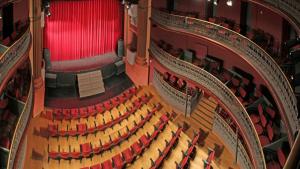 El Teatre Principal de Valls per dins.