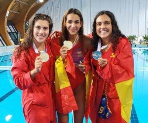Elia Montoya, Olga Descalzi i Sandra Domene