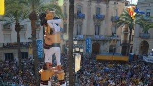 Els Bordegassos de Vilanova en una actuació