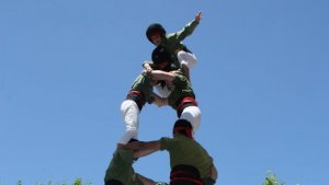 Els Xiquets d'Alcover celebren aquest dissabte la diada del 6è aniversari
