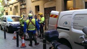 Equip de l'Agència de Salut Pública de Barcelona
