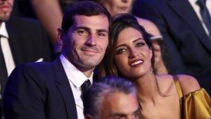 Iker Casillas y Sara Carbonero se casaron en 2016 y tienen dos hijos.