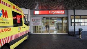 Imagen de archivo de la entrada del Servicio de Urgencias del Hospital La Paz de Madrid