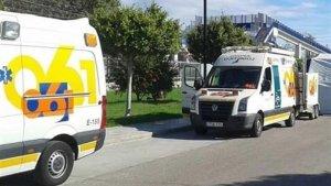 Imagen de archivo de las ambulancias en Málaga