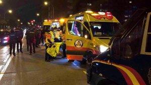 Imagen de una ambulancia del Samur