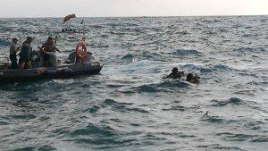 Imagen del rescate del cuerpo.