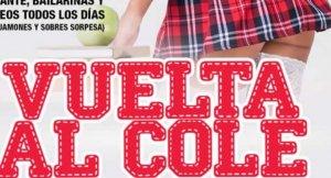 Imatge del cartell de la Vuelta al Cole