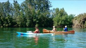 Kayak per l'Ebre
