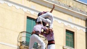 La Jove de Tarragona ha signat una molt bona actuació al Primer Diumenge de Festes.