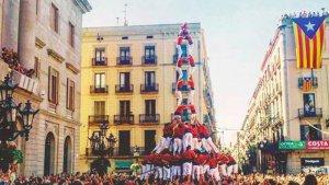La Joves de Valls va descarregar el 2de9fm a la diada de la Mercè de l'any 2015