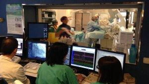 La nova sala d'hemodinàmica permetrà fins a 600 intervencions més cada any